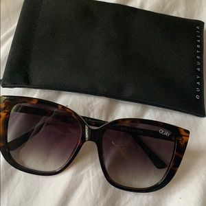 Quay Ever After sunglasses in tortoise